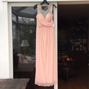 Light pink/peach formal/prom dress